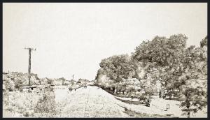 Por esos días el terraplén de las vías del ferrocarril parecía ser el gran culpable de las miserias un pueblo sumergido en la mierda.